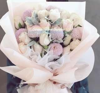 Mother's day Bouquet/flower bouquet/hand Bouquet/birthday Bouquet/anniversary Bouquet/graduation Bouquet