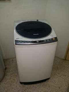 Used Panasonic inverter washer 9.0kg fully automatic washing machine mesin basuh