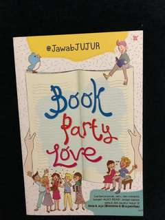 Book Party Love by @JawabJUJUR
