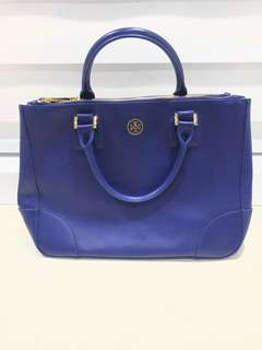 TORYBURCH double zip tote