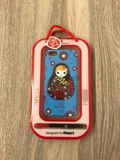 📸🈹(減價)俄羅斯娃娃iPhone 5 手機套,原裝連盒
