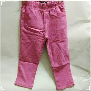 內搭六分牛仔褲/內搭褲/合身顯瘦褲/六分褲