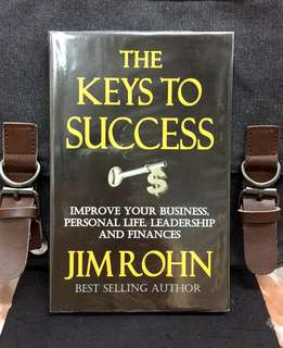 《New Book Condition + The Sustainable & Balanced Approaches To Succeed In Life》Jim Rohn - THE KEYS TO SUCCESS : Improve Your Business, Personal Life , Leadership And Finances