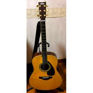 Yamaha Full Solid Wood Acoustic Guitar LL16M ARE