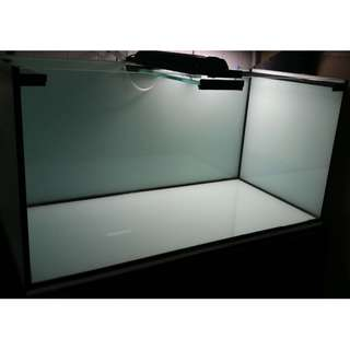 3FT Fish Tank Crystal Glass