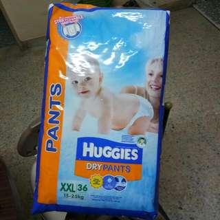 #1212 Huggies Dry Pants XXL36 (15 - 25kg)