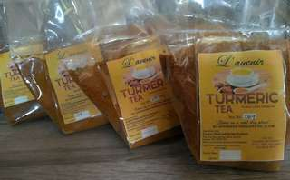 Turmeric tea (100% pure and authentic luyang dilaw)