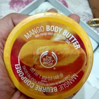 Body shop body butter