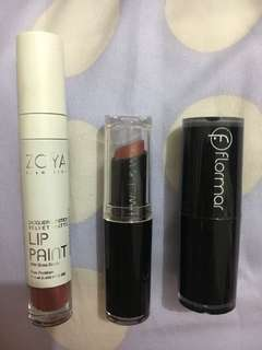 Lipstick bundle (3 for 95k)
