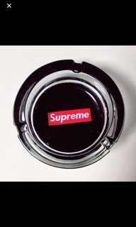 Black Supreme ashtray instock