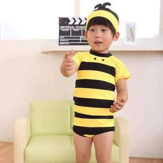 APR 18 BUMBLE BEE SWIMSUIT (DYG)