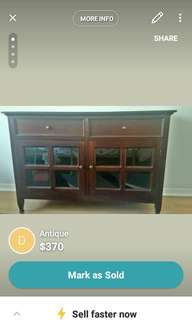 Antique dresser was $900+ tax