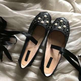 芭蕾舞平底鞋 自購於加拿大Topshop