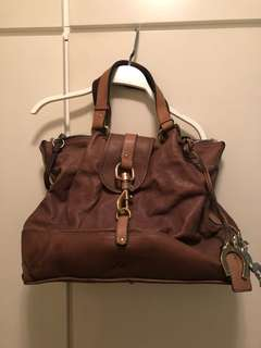 """""""Chloe"""" large real leather bag"""