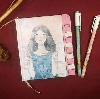Diary password / agenda diary kunci / girl