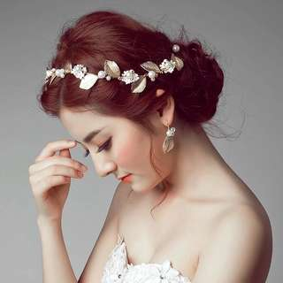 Bridal Hair Accessories set (with earrings)