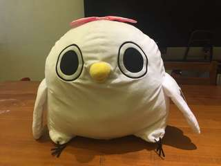【日本正版】懶得鳥你 鳥妹造型大型娃娃 玩偶 鳥妹妹 白色 白色小鳥 白色懶鳥 景品 雞【現貨】