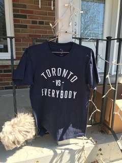 Toronto vs everybody tshirt size m