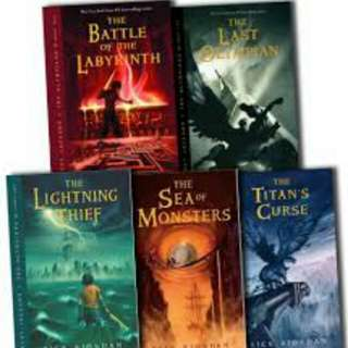 Percy Jackson / Heroes of Olympus Series