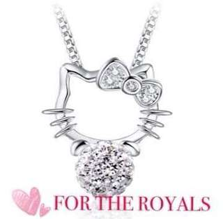 Hello kitty 625 silver necklace