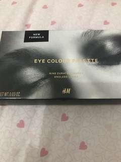 HnM eye color palette