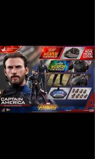 Hot Toys Captain America Avengers Infinity War Movie Promo Edition