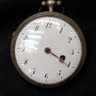 🚚 芝麻練 一百年懷錶 完好如新