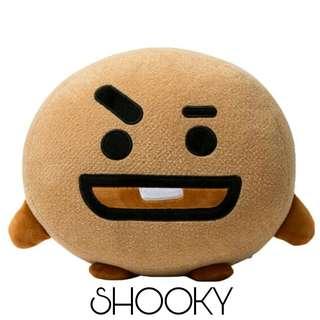 [PO] BTS BT21 SHOOKY VAN Plushie Soft Toy Cushion
