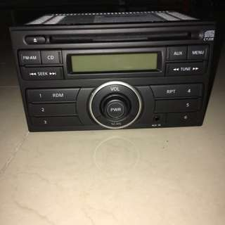 Original Grand Livina Car Audio