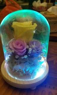 閃光鮮花擺設
