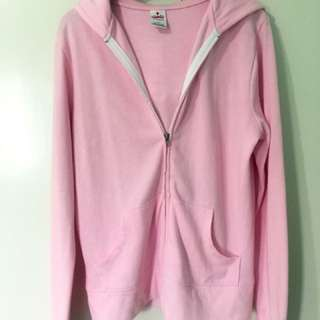 Pastel Pink Jacket with hood