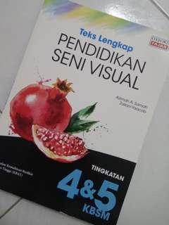 Pendidikan Seni Visual Textbook [Form 4 & 5] 2017 Edition