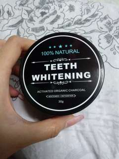 Teeth Whitening Activated Organic Charcoal 30g