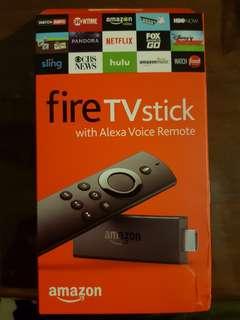 Fire TV stick with Alexa
