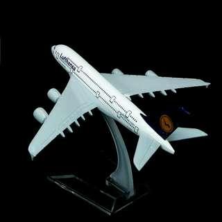 Lufthansa Airbus A380 Diecast Airplane