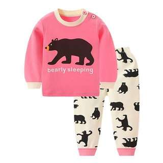 *SALE*INSTOCK* Pink Bear Children Pyjamas
