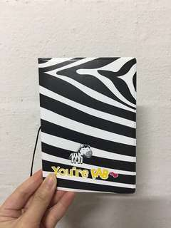 Zebra You're Fab 💕 3D Passport Cover