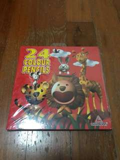 Goldlion 24 Colour Pencils