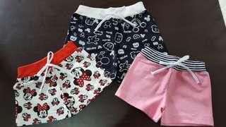 韓國女童短褲