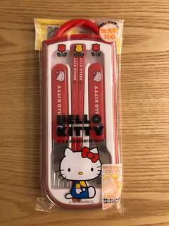 Hello Kitty Sanrio 餐具套裝(made in japan / melody)