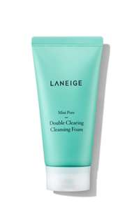 Laneign mini pore double clearing cleansing foam