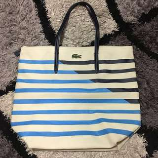 AUTHENTIC Lacoste Printed Tote Bag