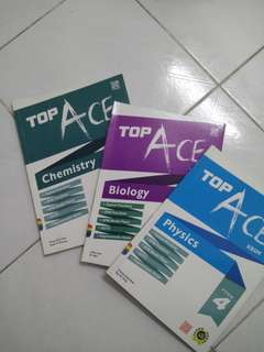 Biology, Chemistry & Physics Form 4 Revision Books [Bundle]