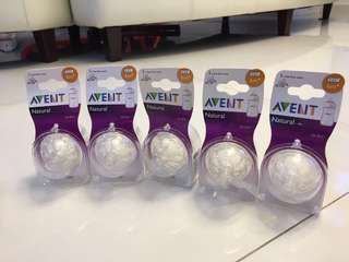 Brand New Avent Natural Fast flow teats (6m+) for sale!