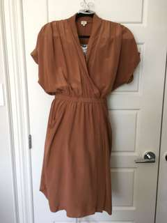 WILFRED SILK DRESS