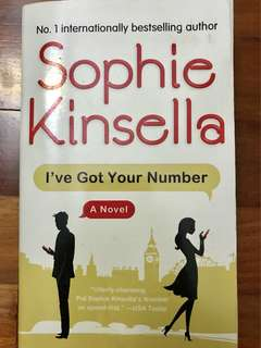 "Sophie Kinsella ""I've got your number"""