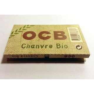 10包x100pcs. OCB Organic Hemp Rolling Papers / 有機手捲煙紙