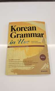 Korean Grammar In Use - Beginning to Intermediate