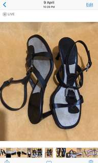 Authentic Bally Sandals ( Size 5 1/2)