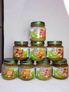 Earth's Best Organic Baby Food Stage 2